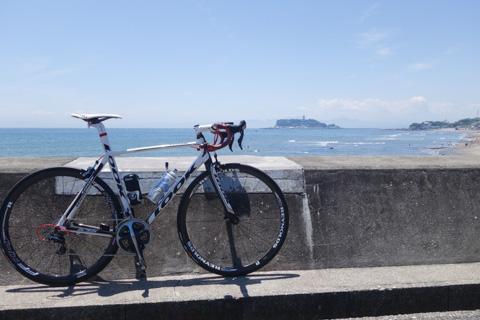 やっぱり,FHC後は海辺平地サイクリングだ!(^^)