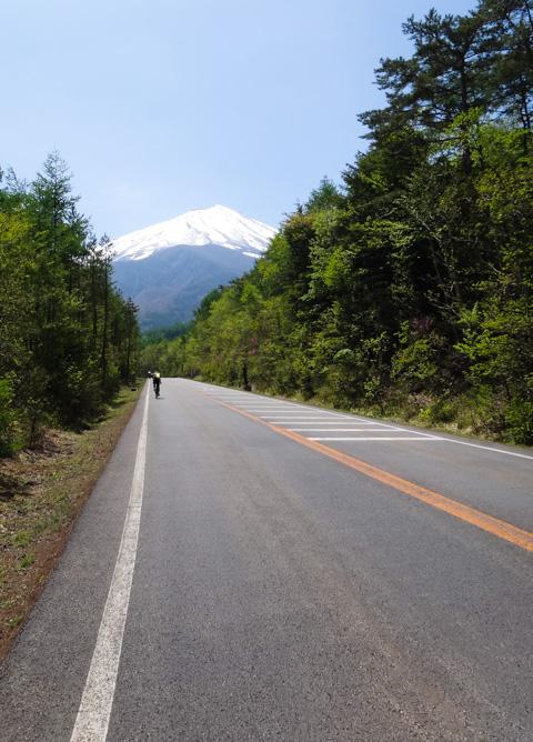 最高の景色,最高の上り坂(^^) スバルラインです。