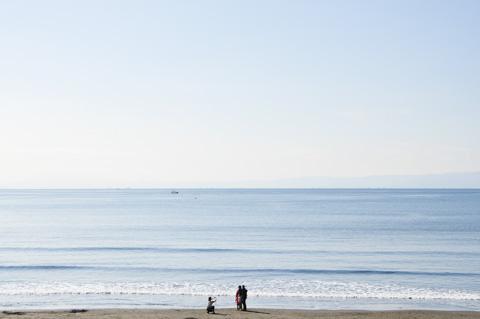 こういう,ゆる~い海辺を走りたい(^^)