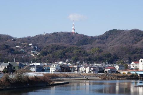 こんなところです。テレビ塔の麓まで,一気に登ります。