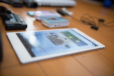 我が家で一番新しいSONY。ペラペラに薄いタブレット Xperia Z3 Tablet Compact。