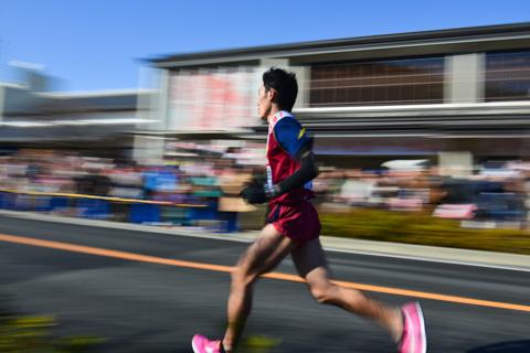 正月には箱根駅伝の応援に行ってきました。おいらも頑張らねば!(^^)