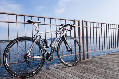 2015年の初走行は江ノ島でした。あとは全部,湘南平です(^^)