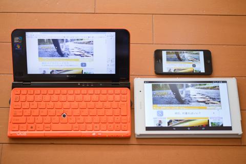 パソコン,タブレット,スマホ。どのデバイスでも「フォトポタ日記」を見ることはできますが,書くのはパソコンでしかできないんだなぁ・・・。