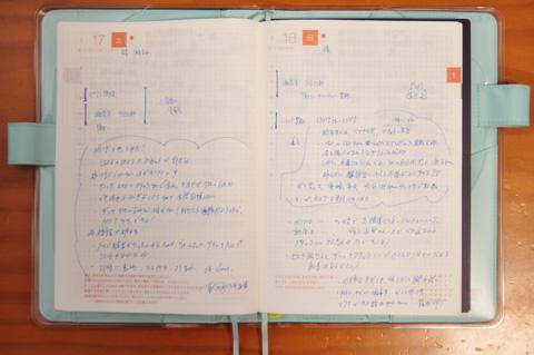 休日のページには,湘南平やHIITの感想が書かれていました。