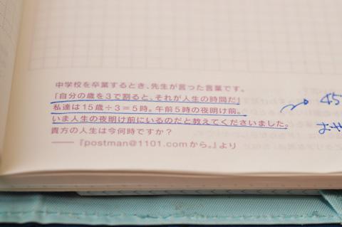 各ページの最下段に,ちょっとした一文が載っています。