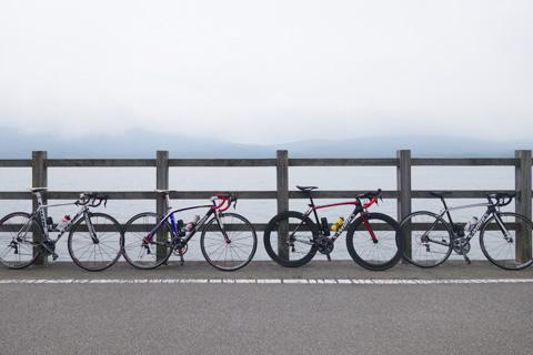 左から,Shiroさん号(595),panpanさん号(BOMA),きゅーまるさん号(Tarmac),Noguさん号(Tarmac)
