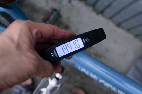 さらにさらに,車体全体重量はこれ。595号の2倍以上・・・。
