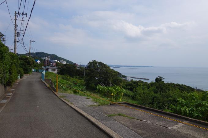 海を見ながら走る小道,って好きなんだなぁ~。