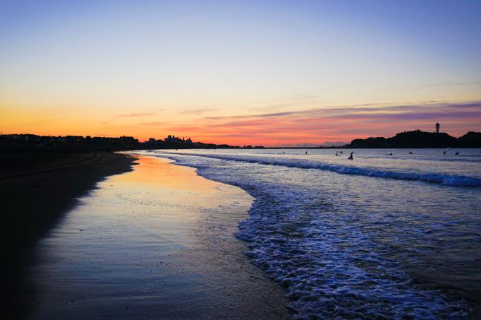 この位置から見る海辺が好きなんです。あ~,三脚が欲しい・・・。