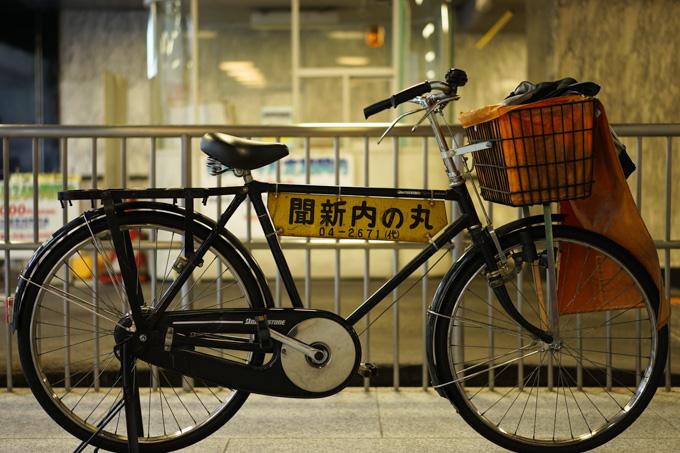 質実剛健,働く自転車です。