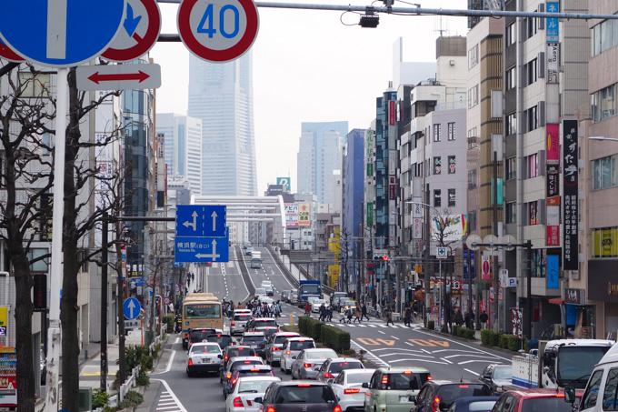 家を出て1時間20分。無事に横浜に到着~(^^)