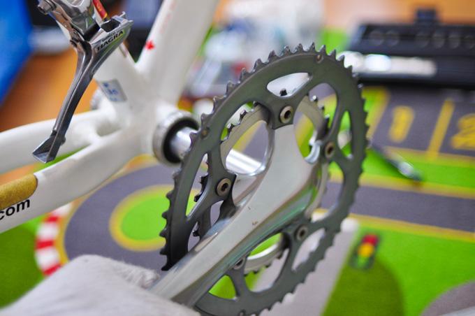 グレードなんて関係なく,やっぱり,自転車作業は楽しいですなぁ(^^)