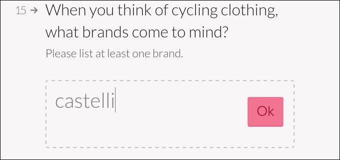 自転車ウェアと聞いて思い浮かぶブランドは? と聞かれて,素直に「castelli」と書くおいら。「Rapha」と書かなくて大丈夫なのか!?