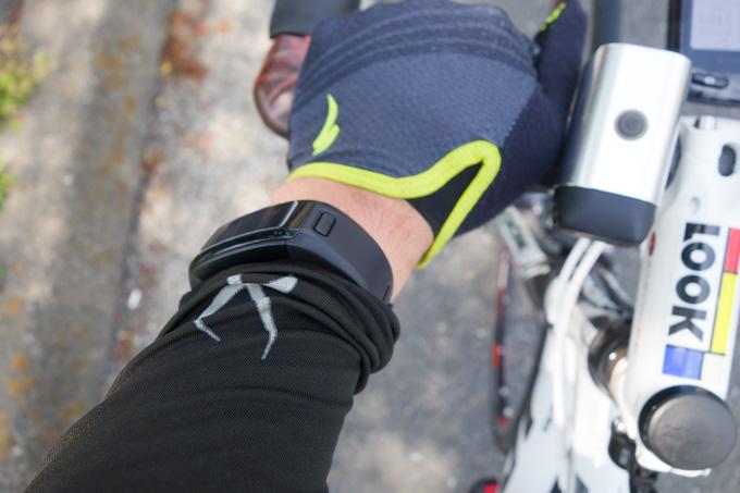 自転車に乗っちゃえば,違和感はかなり緩和。その意味では適正デザインなのかも・・・?