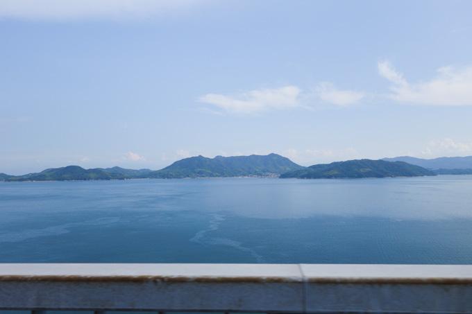 多々良島からの眺め。瀬戸内海らしい,のどかな風景です(^^)