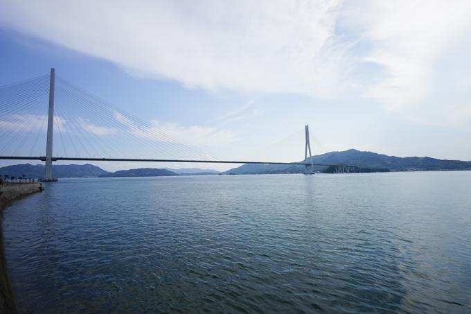 多々羅大橋も格好いい橋でした。