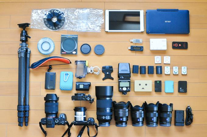 今回はNikonではなく,SONYカメラのみです(フルサイズ,APS,コンデジ,アクションカム)