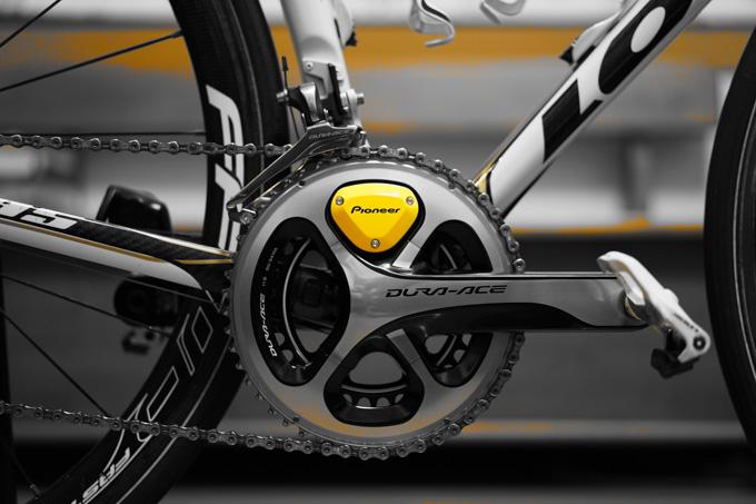 自転車パーツで,「黄色」ってあまり見かけないので,かなり目立ちます(^^)
