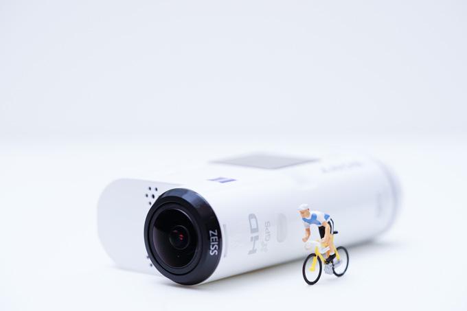 新型ウェアラブルカメラでスプリントの動画を!(やらないけど)