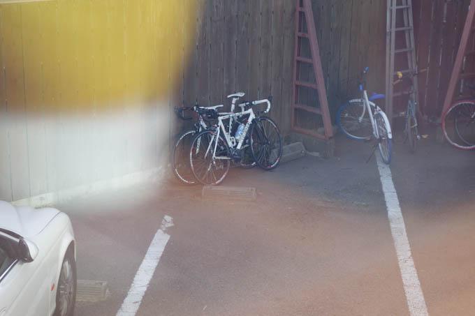 店内から,親子バイクを監視できます(^^)