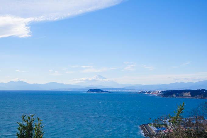 逗子マリーナ・江の島・富士山が見えます(^^)