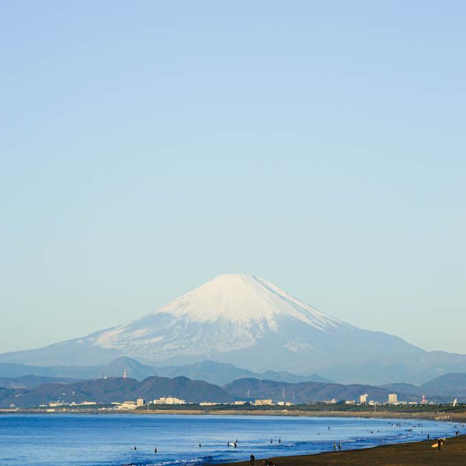 西をむけば富士山! 美しか~