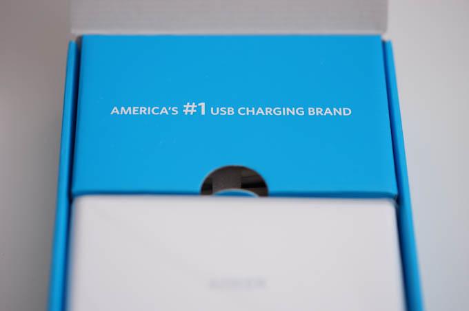 全米ナンバー1USB充電ブランド,ANKER。だいぶ,ニッチなランキングのような気もしますが・・・(^^;)