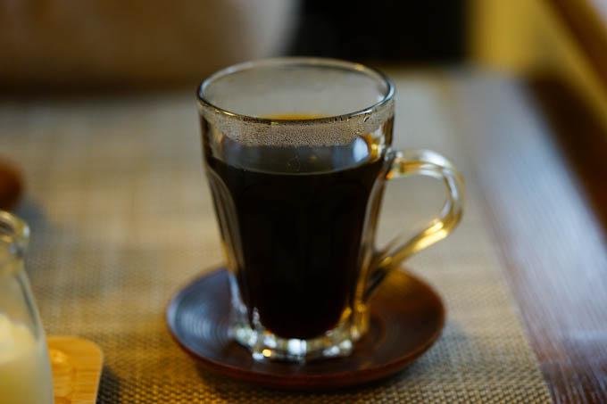 食後のコーヒーはサイフォンで(^^)