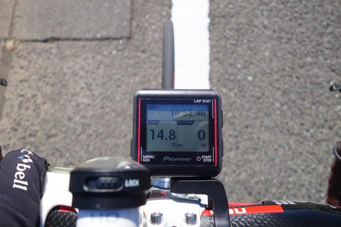家を出たのは昼前ですが,この気温。暑すぎるくらいです(^^)