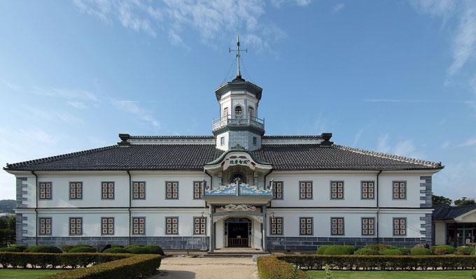松本市の旧開智小学校。重要文化財であります(^^)