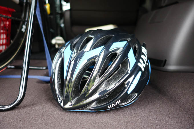 これです! ヘルメットです! モヒートです!