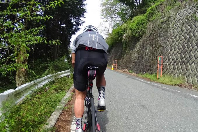 Shigeさんに500mほど引いてもらいました。楽ちん~(^^)