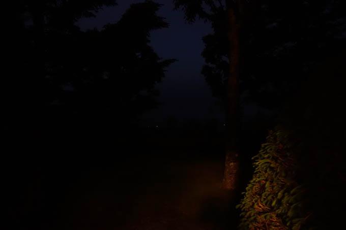 さぁ,朝だ!(3時) 真っ暗じゃん・・・。
