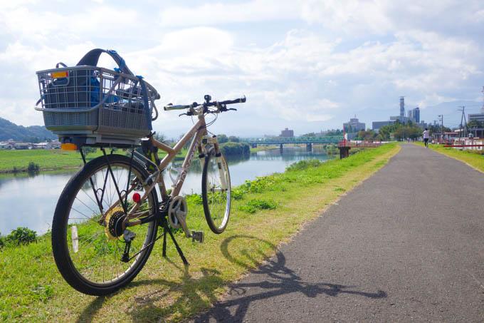 単身赴任先は福島。LGS SIX号も自転車通勤仕様に!(^^)
