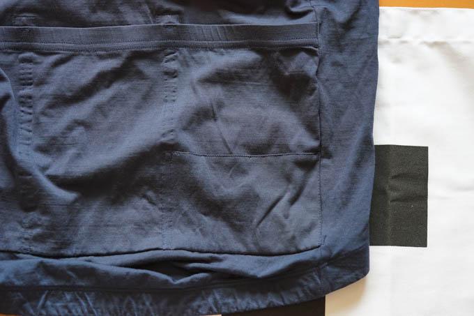 裏から補強され、標準より強くなったポケットです(^^)