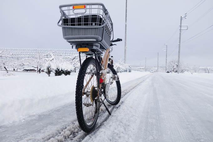 雪道で、分厚いグローブをしていても操作ミスなし!(^^)