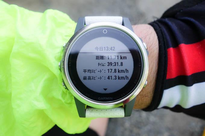 翌日はさらに短縮して、39分31秒。