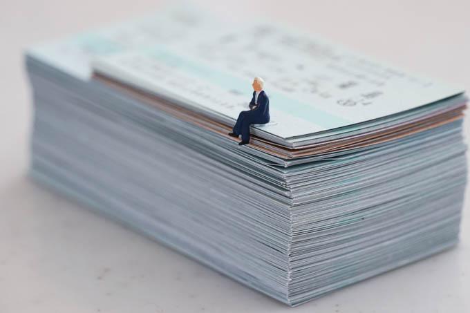 新幹線だけは紙切符で乗っていますが、半年でこの枚数・・・(驚)