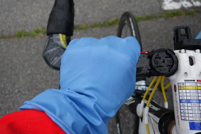 濡れない&滑らない。最高に便利な自転車グッズです。しかも108円(^^)