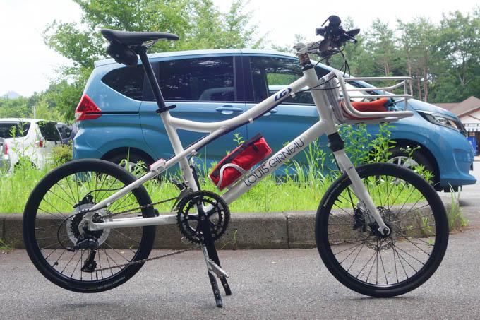 さっそく、車載して山中湖サイクリングなど、活躍中です(^^)