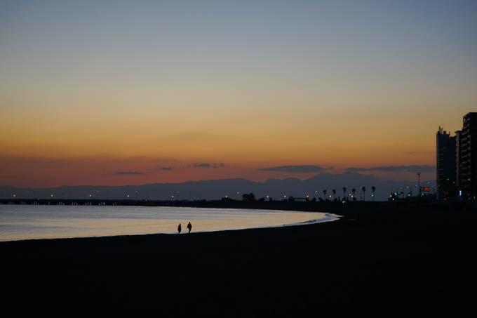 江の島。望遠レンズを持ってくるべきであった・・・。