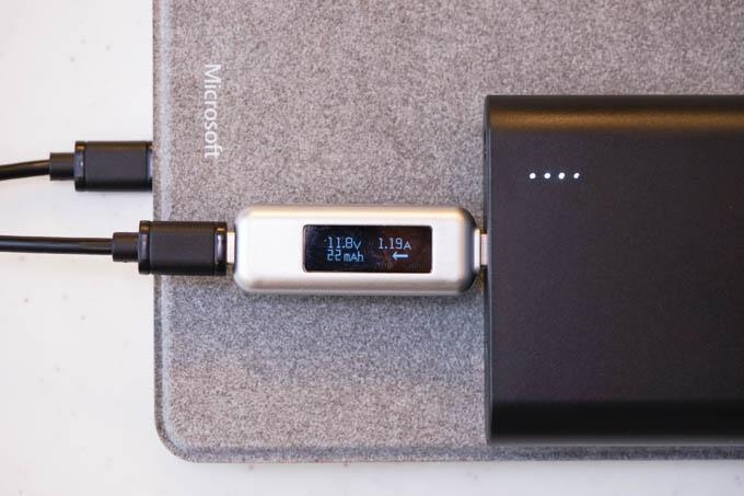 12V×1.5Aで充電できます。ちょいと電流が小さいか・・・?