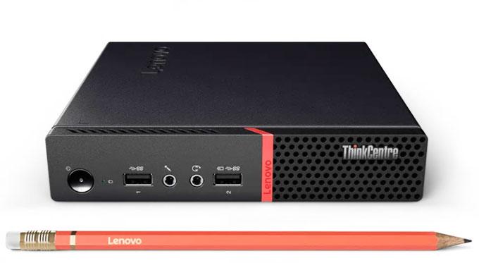 超小型だけどShiro家最速マシン、Lenovo ThinkCentre M715q Tiny