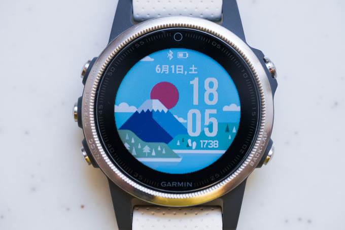 画面を富士山風のデザインに変更。気分を盛り上げよう!(^^)