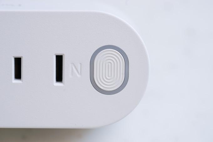 各口の横にあるボタンSWを押すと、ON/OFFになります。