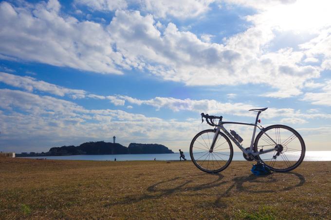 江の島背景バージョン。