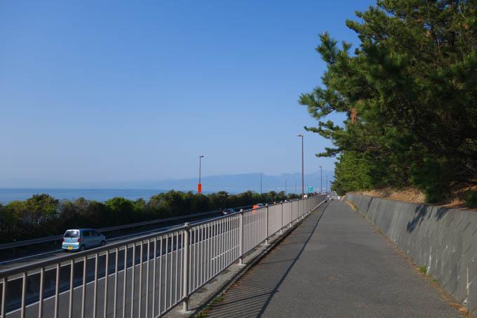 大磯付近、R1に飽きたので「太平洋自転車道」を走る。
