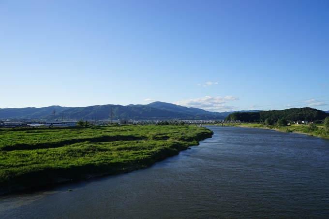 やたらと川が広くなってますが、両岸にCRが整備されています。