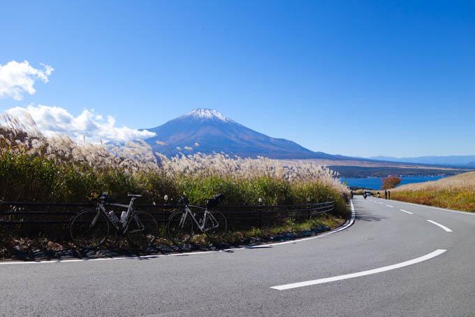 どひゃ~、富士山・山中湖、最高です!